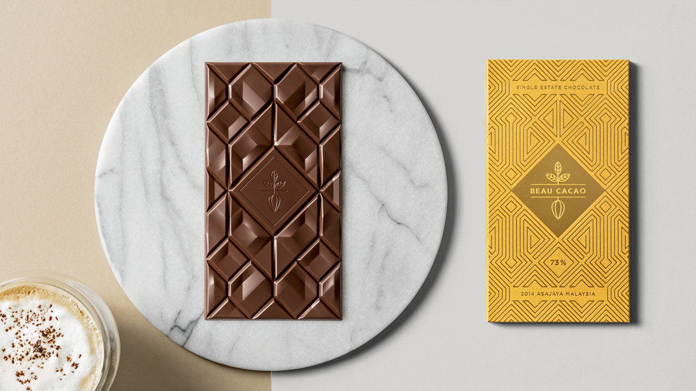 How Bornean Culture Influenced This Stunning Chocolate Bar Packaging