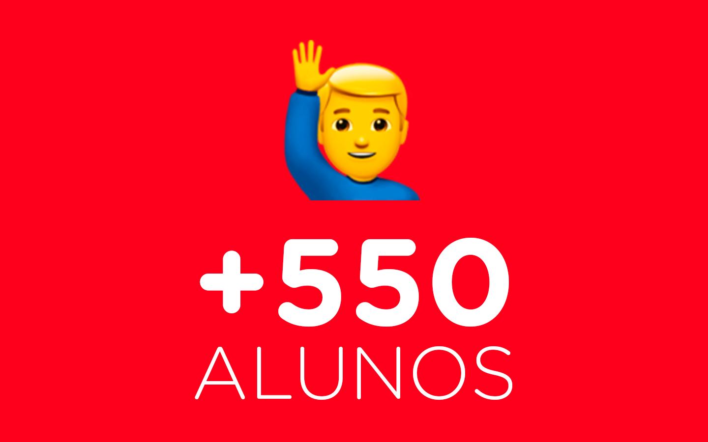 550alunos