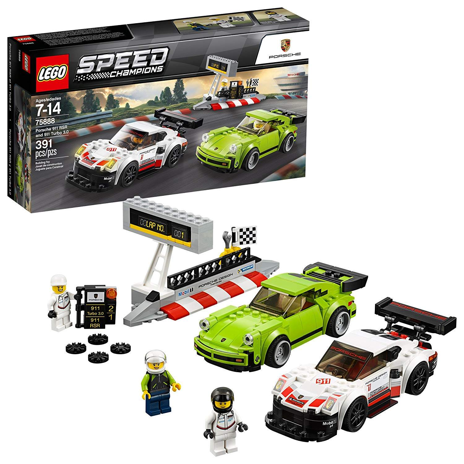 lego porsche 911 rsr and 011 turbo