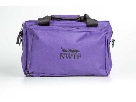 Purple Cooler Field Bag w/ NWTF Logo
