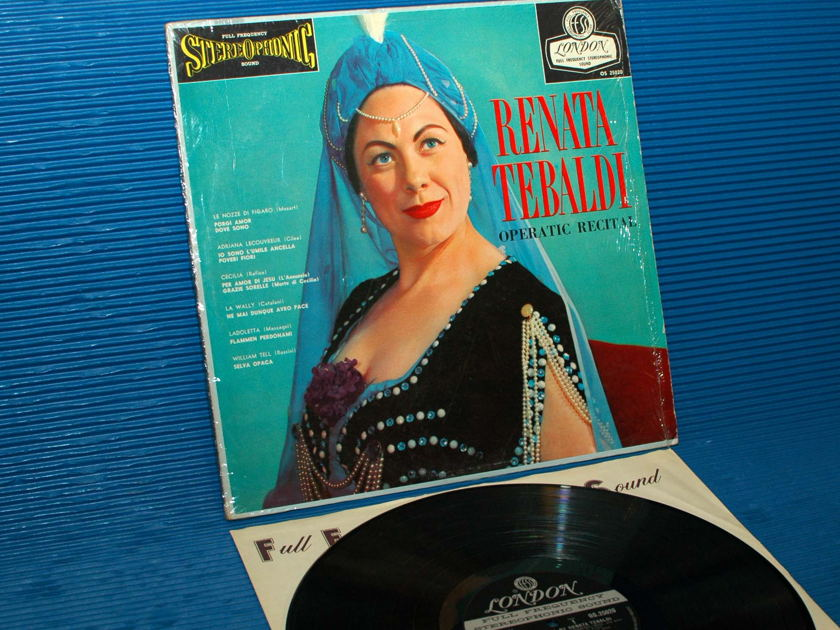 "RENATA TEBALDI -  - ""Operatic Recital"" - London 'Blue Back' 1959 early press"