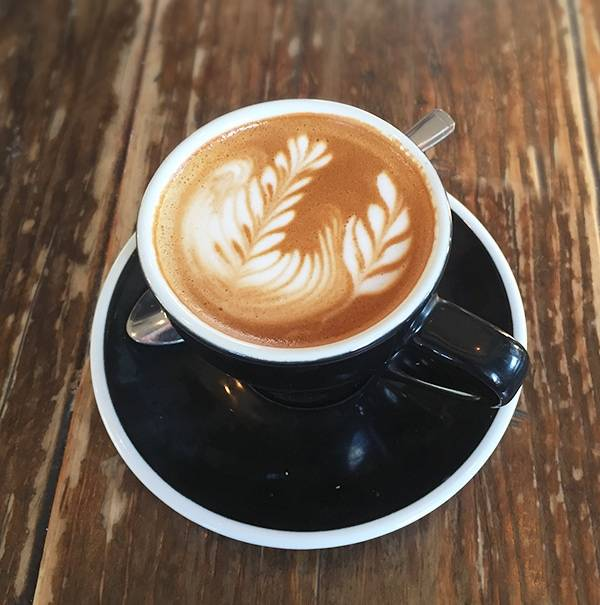 Flat White with Latte Art