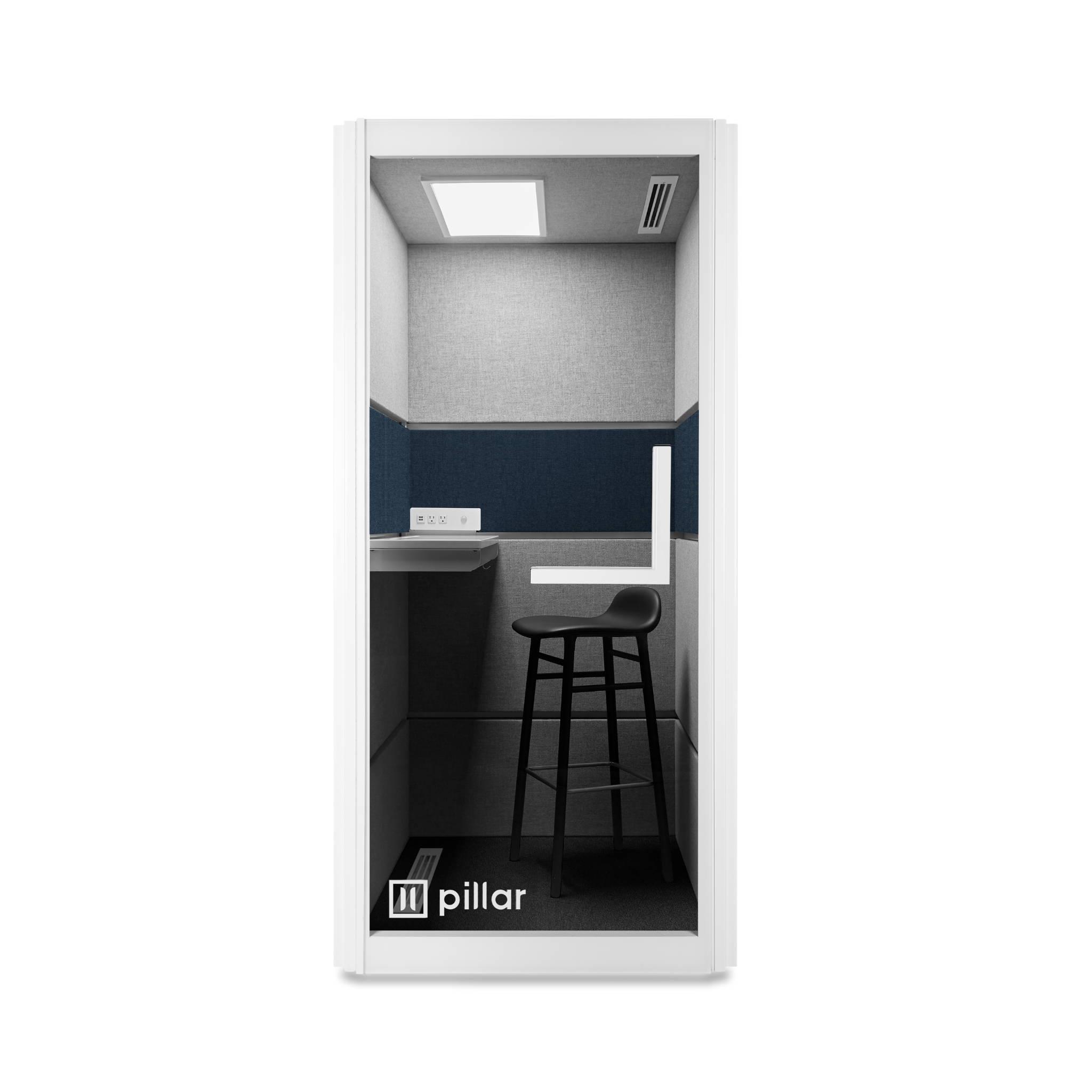 pillar booth baltic panel