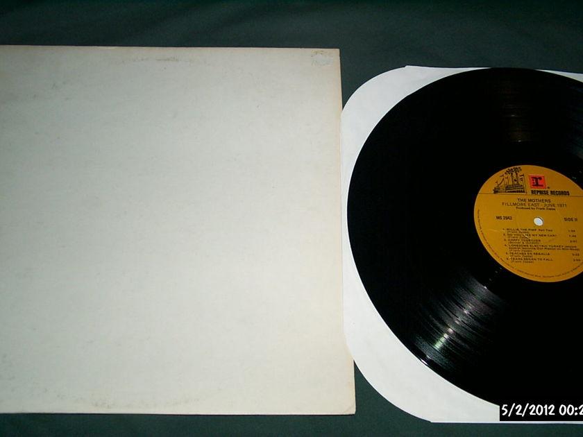 Zappa/Mothers - Fillmore East 1971 rare cover lp nm