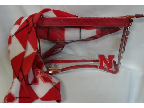 Nebraska Clear Crossbody
