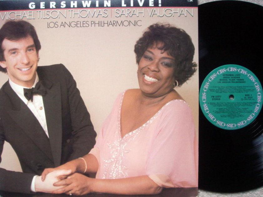 Columbia / SARAH VAUGHAN-TILSON THOMAS, - Gershwin Live!, MINT!