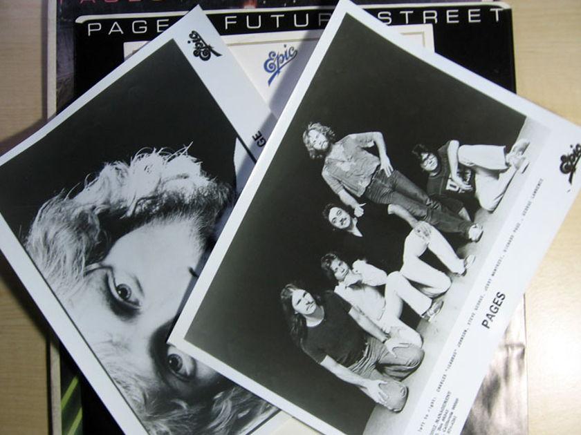 Pages - Future Street  - White Label Promo Press Kit 1980 Epic JE-36209