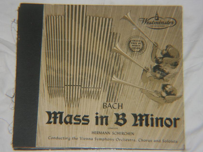 Hermann Scherchen - Bach Mass in Be Minor Wl 5037-39