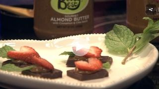 This chocolate strawberry popper recipe was featured on Carolina Kitchen