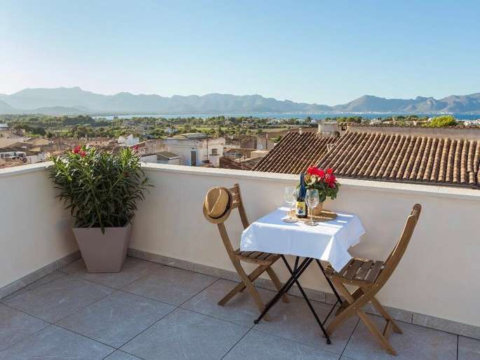 Fantastic sea view apartment in the heart of Alcudia