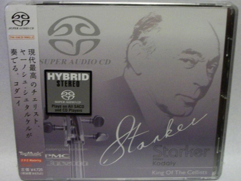 Starker Plays Kodaly - SACD/CD hybrid by top music, brand new SACD