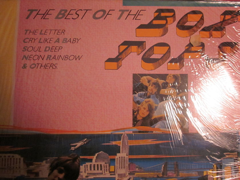 THE BOX TOPS - the best of the box tops the letter, soul deep, cry like a river