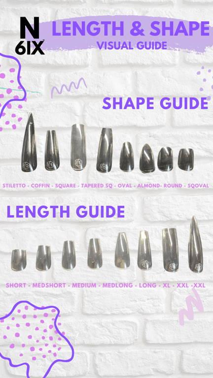 nail shape visual guide
