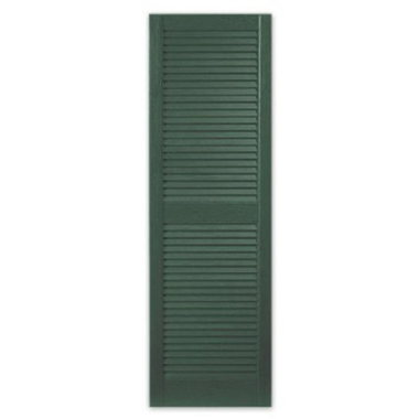 STANDARD LOUVERED SHUTTERS-GREEN