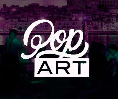Fiesta Pop art by Vertu En Lio Club biza, calendario fiestas Ibiza temporada