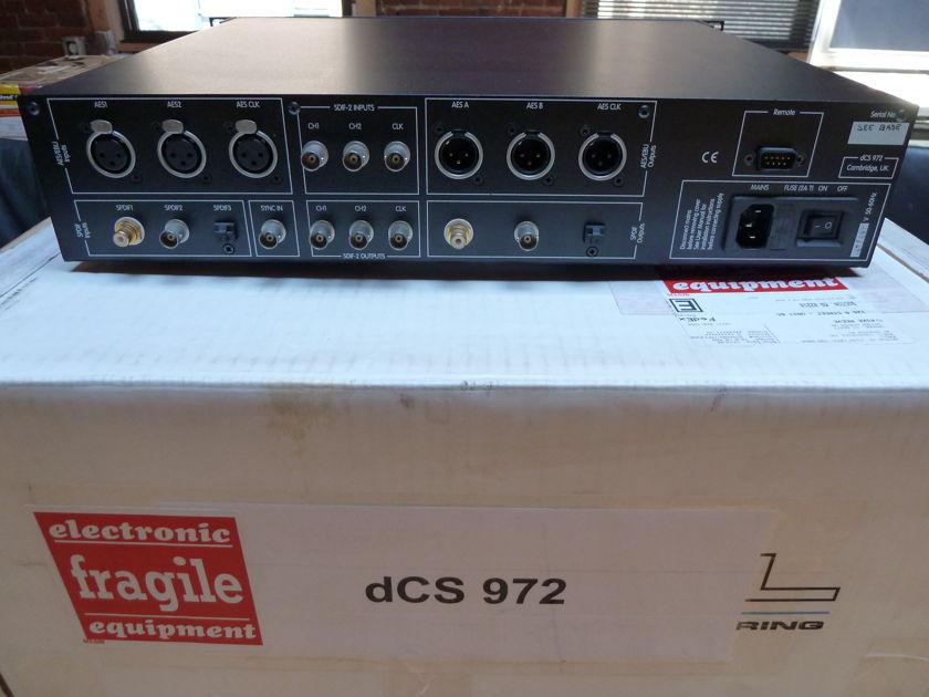 dCS 972 Upsampler [Pair with Mytek Stereo192 DSD DAC]