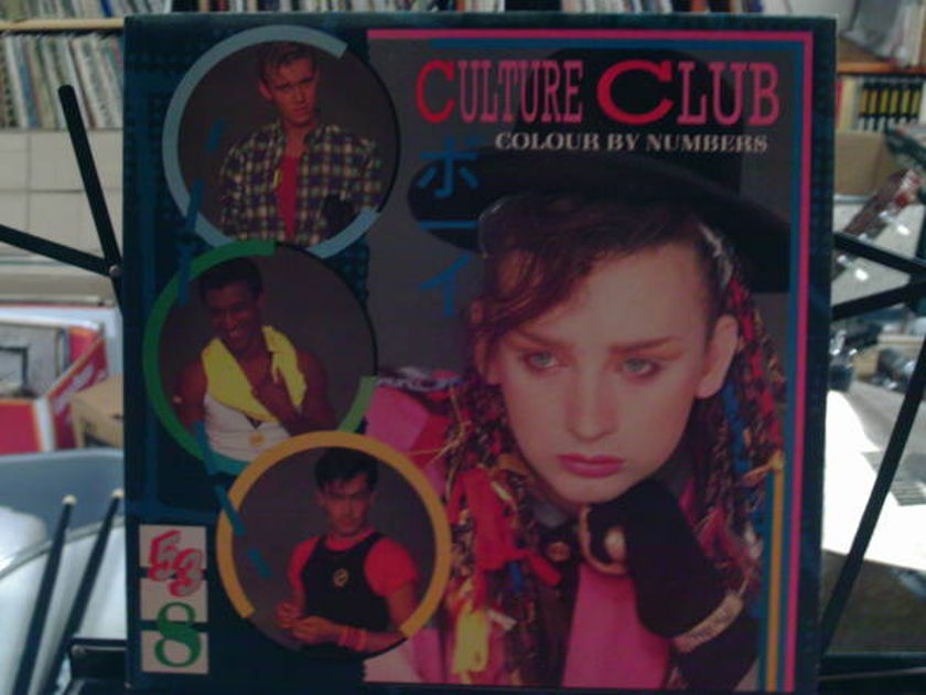 Culture club - color by numbers