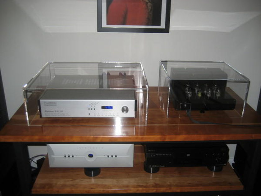 Stereo Squares Audio Jewelry  Custom Lenco cover Clearaudio concept & Ovation cover