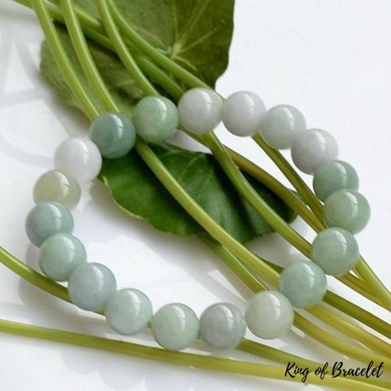 Bracelet de Lithothérapie en Jade - King of Bracelet