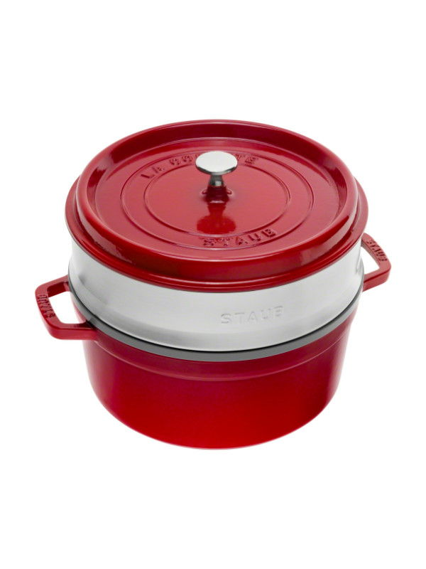 Cocotte with Steamer, 26 cm