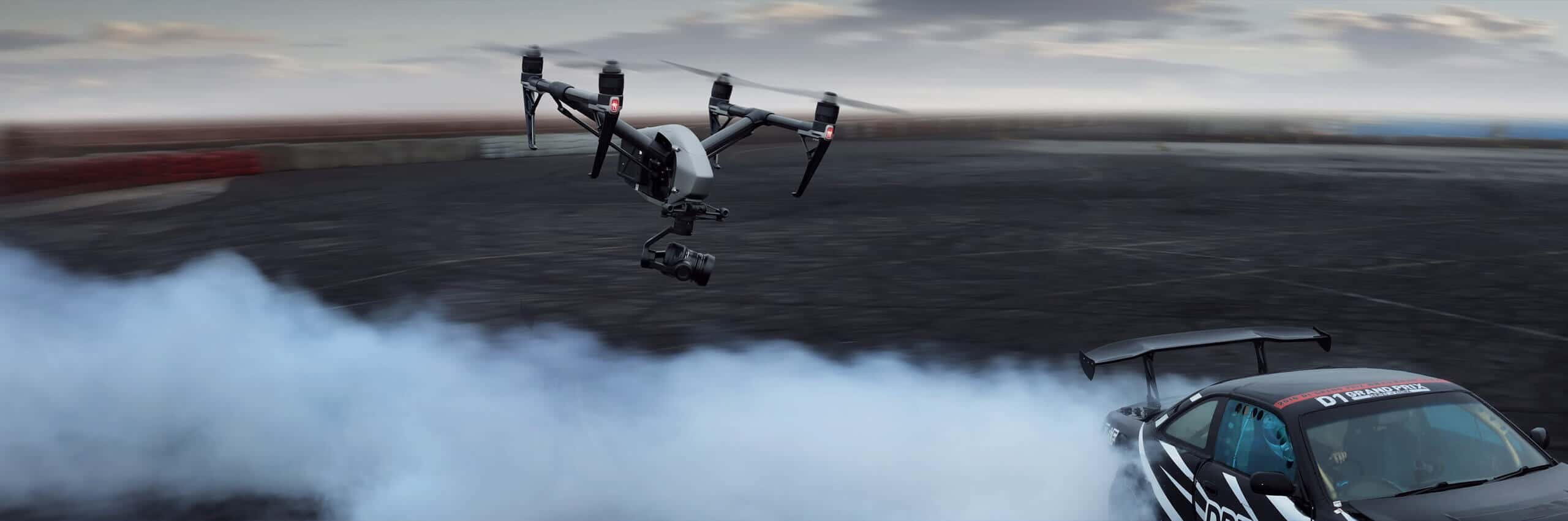 DJI Inspire 2 Cinematic Vision