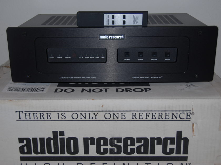 Audio Research PH5 Phono Tube Preamplifier