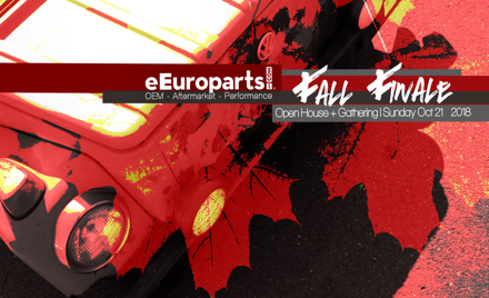 The 2018 eEuroparts.com Fall Finale – October 21
