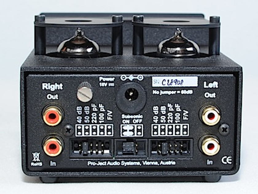 Pro-Ject Tube Box DS Mint-Black Tube Phono