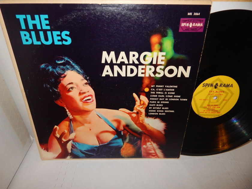MARGIE ANDERSON - 'THE BLUES' MK 3064 SPIN-O-RAMA Soul Blues LP EX