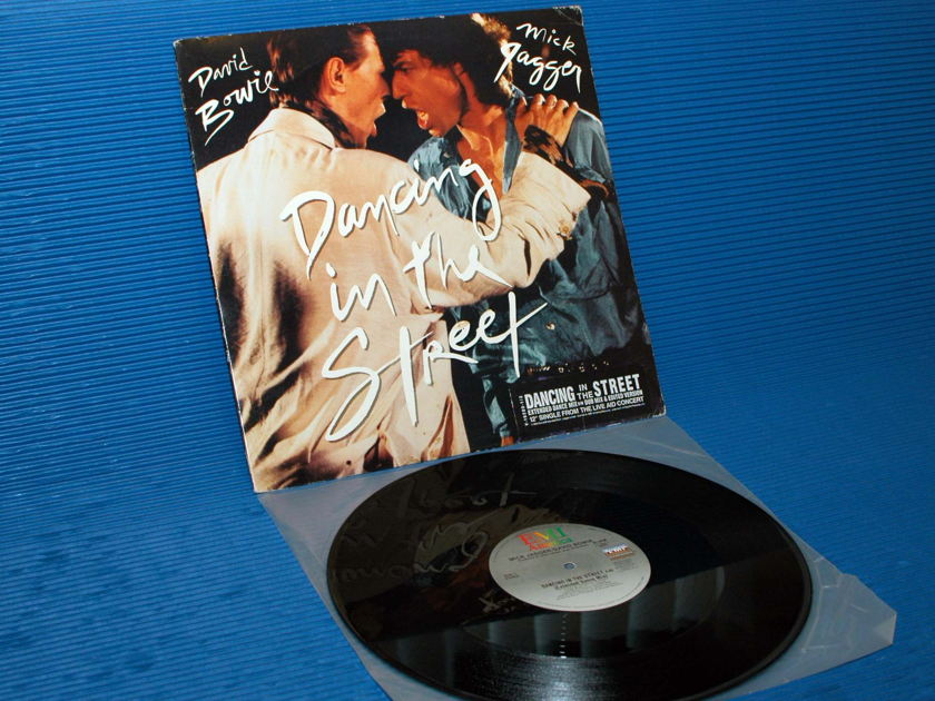 """DAVID BOWIE/MICK JAGGER - - """"Dancing in the Street"""" - EMI 1985 45 rpm"""