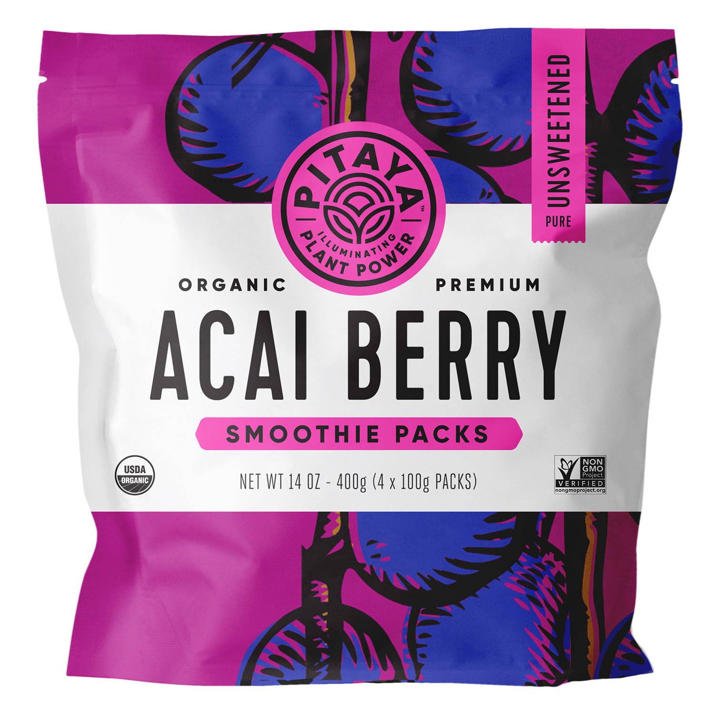 Pitaya Organic Acai Berry Smoothie Packs