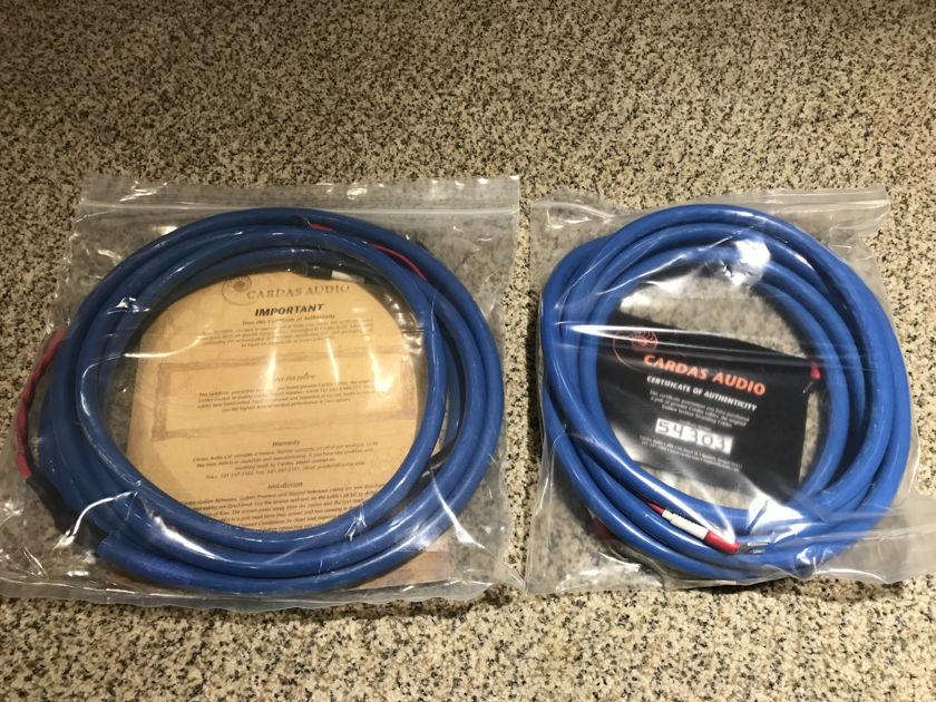 "Cardas Audio Quadlink 5c spk 1/4"" Spade, Bi-wired, 4.5M/15FT Pair"
