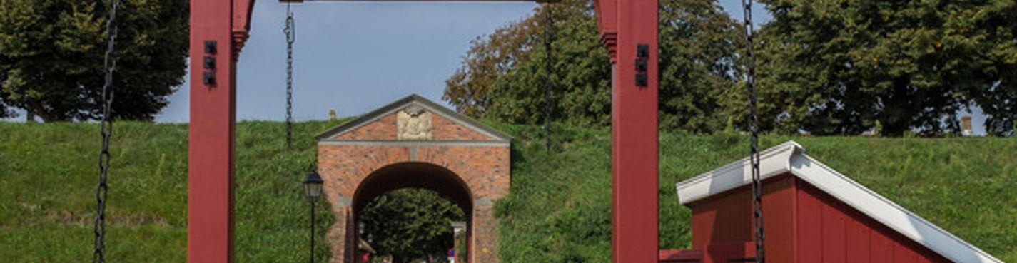 Форт Буртанже —   звездная крепость на севере Голландии