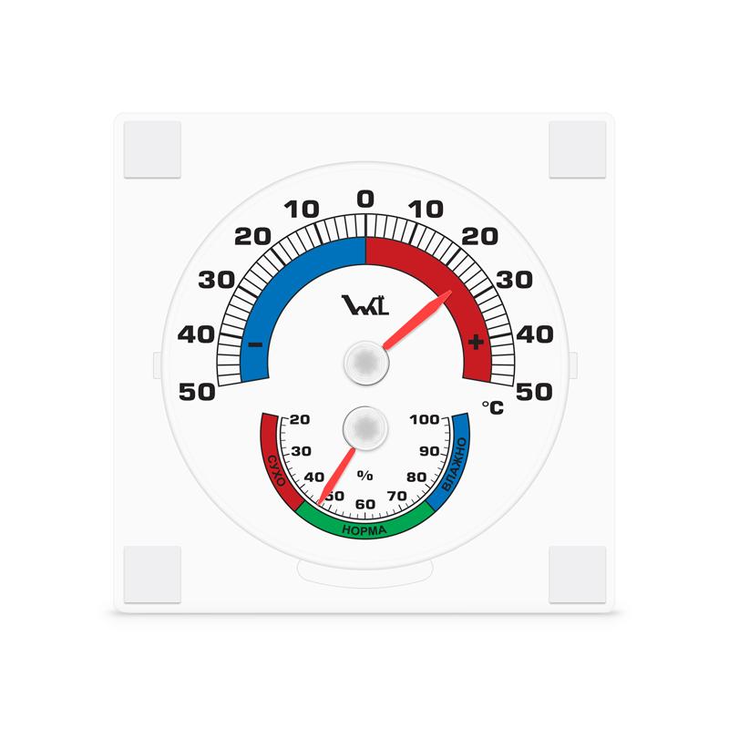 Термо-гигрометр биметаллический ТГО