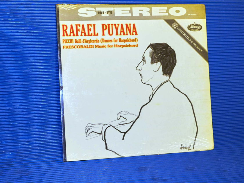 RAFAEL PUYANA plays PICCHI & FRESCOBALDI - Mercury Living Presence 1964  1964 SEALED