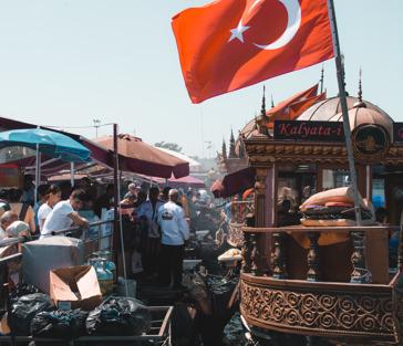 Стамбул атмосферный