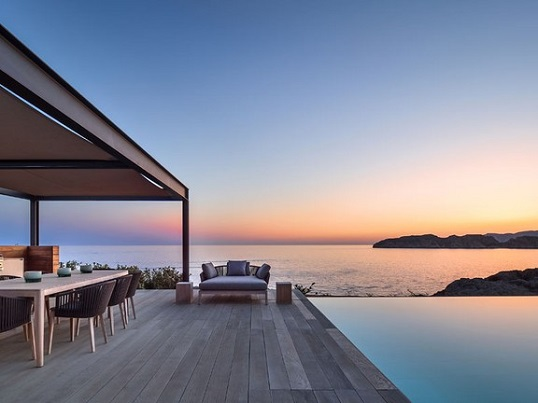 Puerto Andratx - Villa with terrace and sea views, infinity pool and horizon with sunset in Santa Ponsa Mallorca