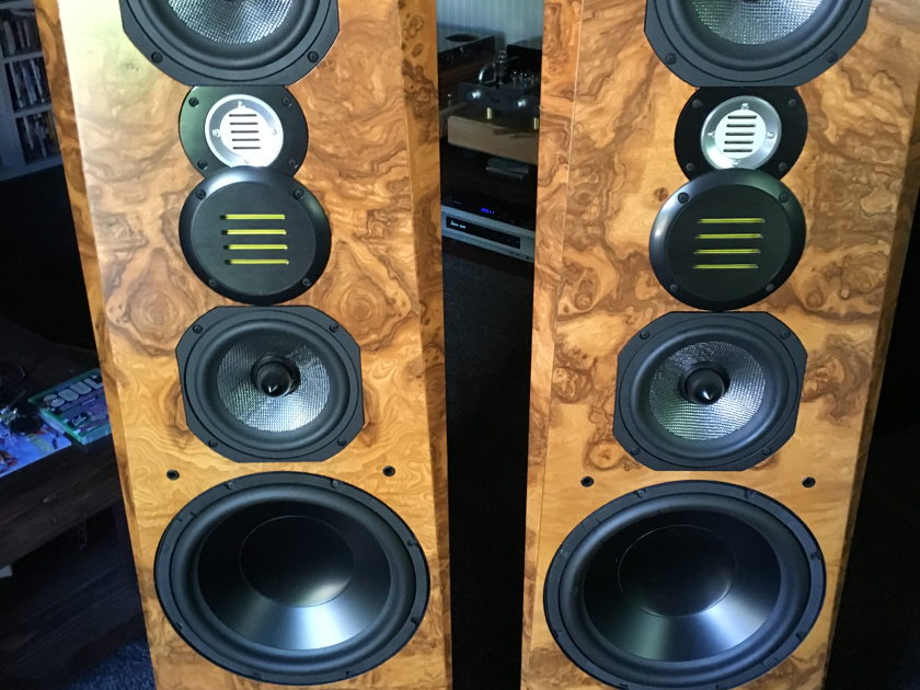 Legacy Audio Focus SE Beautiful sounding and looking audiophile speakers