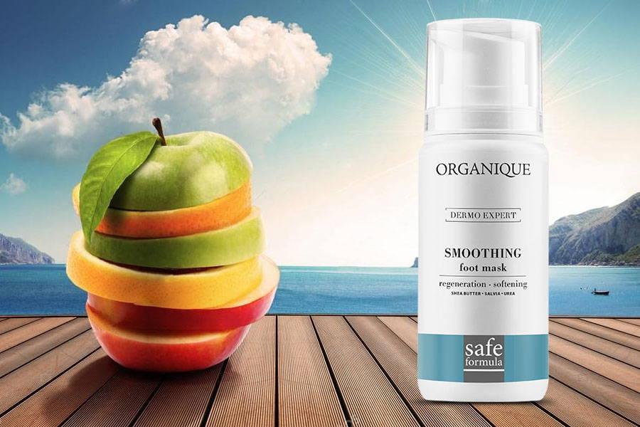 Intense Regenerating Foot Mask Organique natural cosmetics