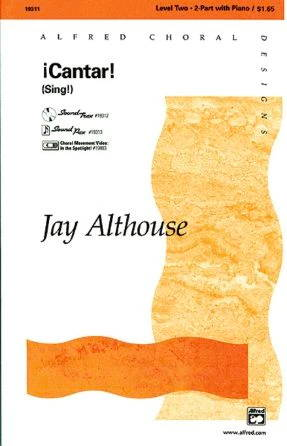 Cantar 2-Part - Jay Althouse