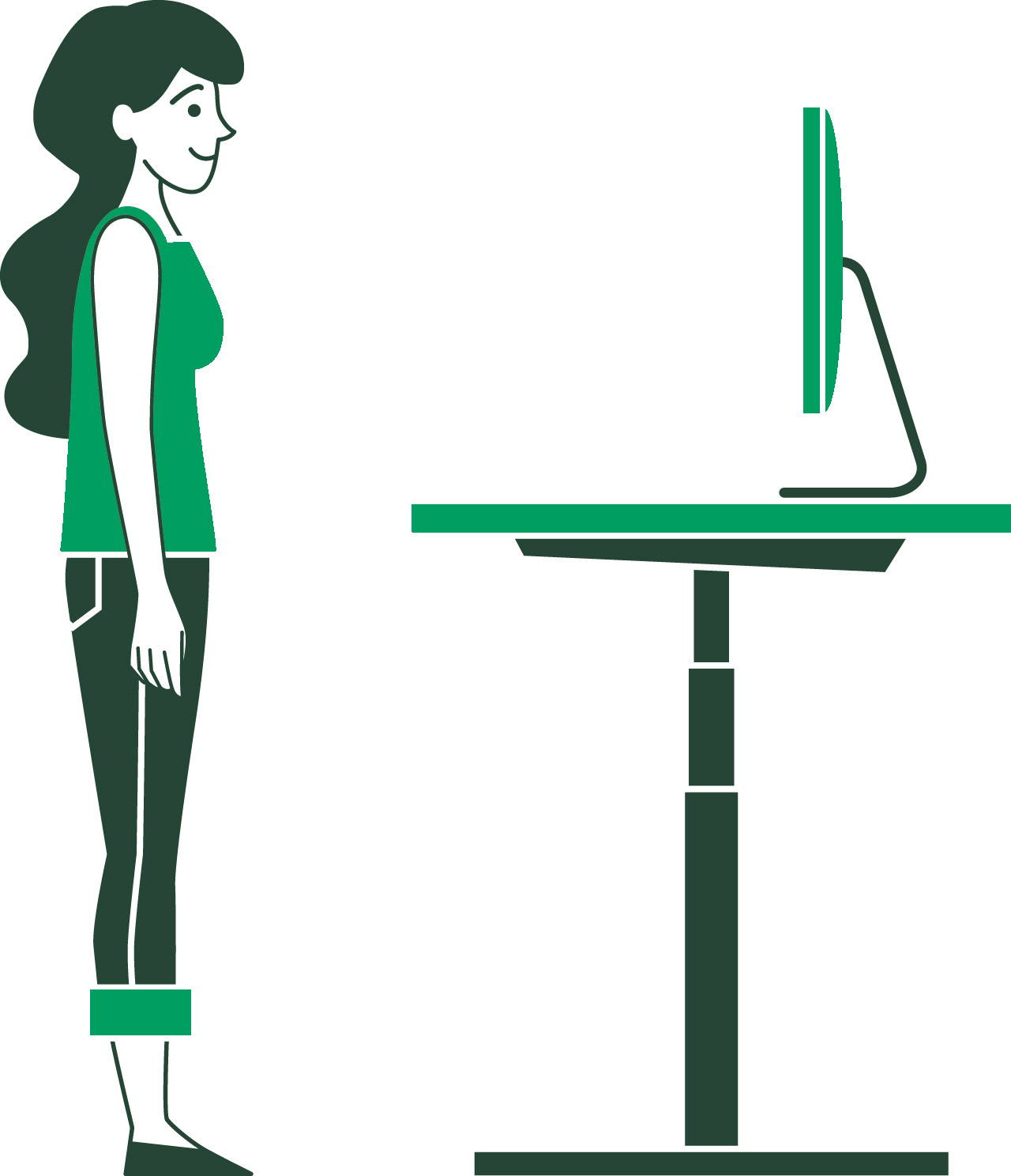 How to use my sit-stand desk