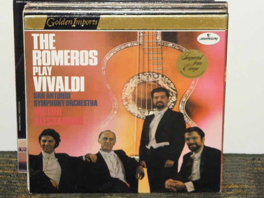 The Romeros - Vivaldi For Guitar Violin Viola and Cello +more Mercury Golden Imports SRI-75054
