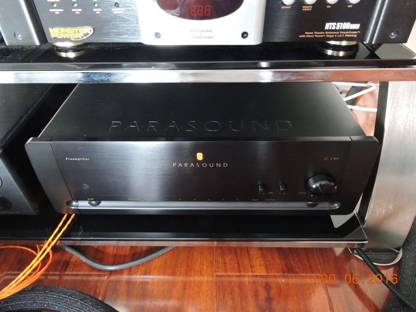Parasound JC2 BP Current version with By pass option