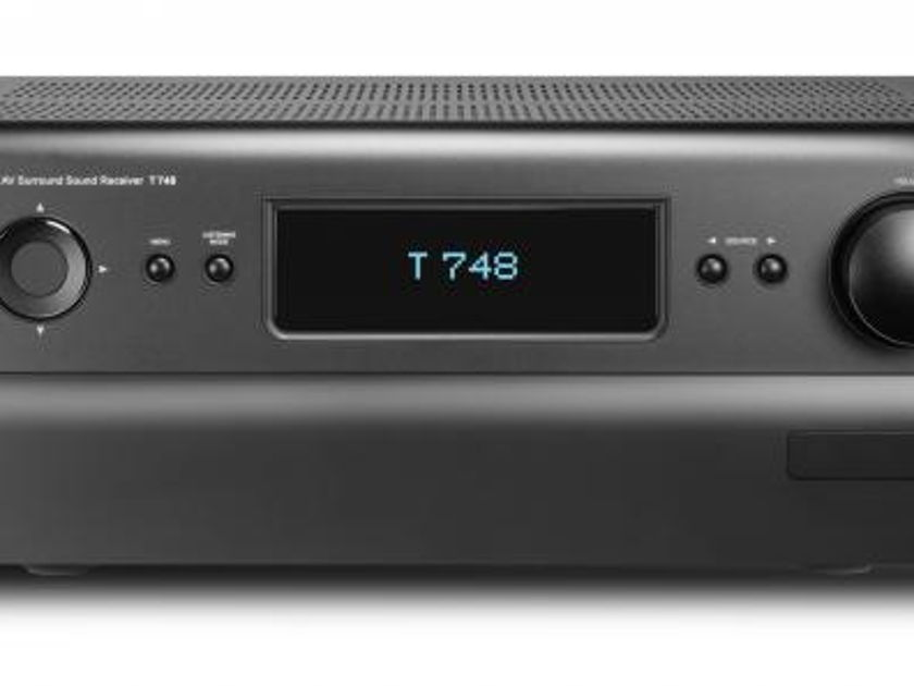 NAD T 748 / T748 Home Theater Receiver with Manufacturer's Warranty & Free Shipping