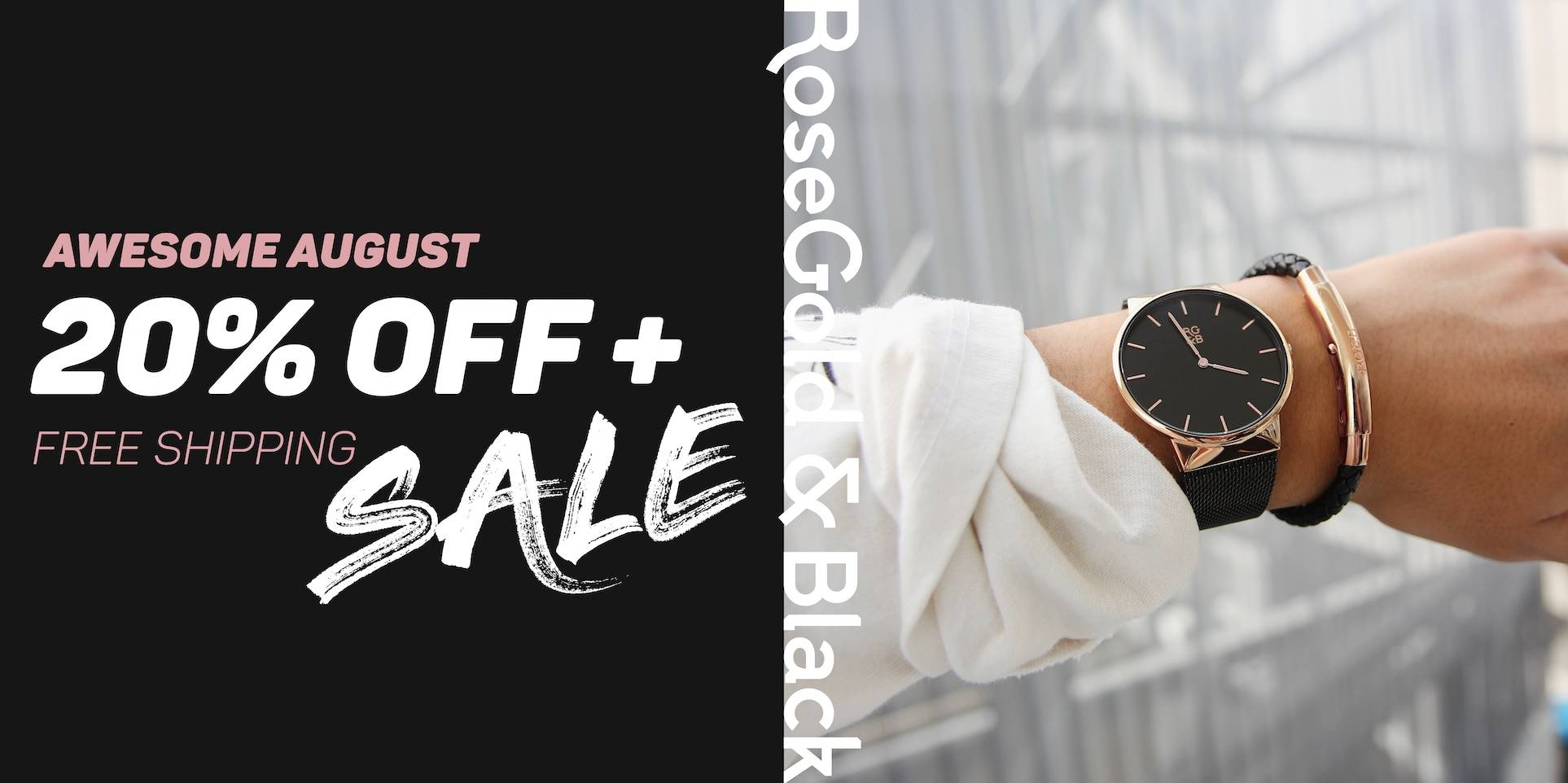 Awesome August 20% Off