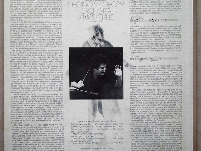 RCA | LEVINE/STRAVINSKY - Petrushka (1947 version) / NM
