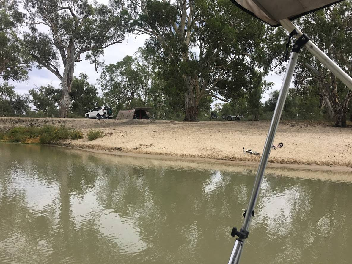 Fishing in murray river national Park