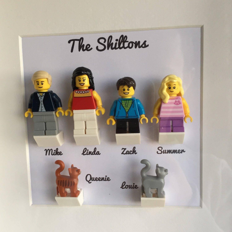Personalized LEGO Family