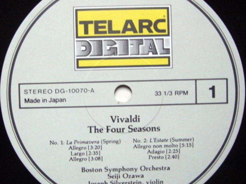 ★Audiophile★ Telarc / SILVERSTEIN-OZAWA, - Vivaldi The Four Seasons,  MINT!