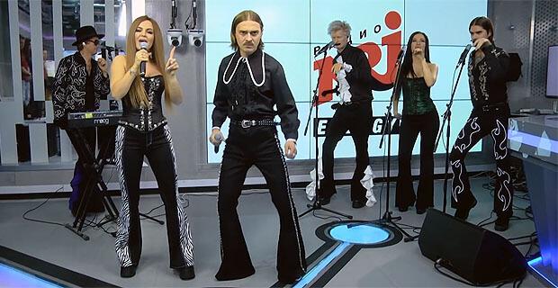 Uno, Dos, Quatro! Живое выступление группы Little Big с песней UNO состоялось эксклюзивно в студии Радио ENERGY - Новости радио OnAir.ru
